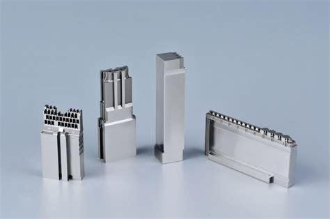 edm precision mold parts color anodized plastic