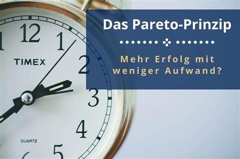 Pareto-Prinzip - 80/20 Regel einfach an Beispielen erklärt