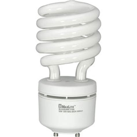 shop maxlite 32 watt 120w spiral gu24 pin base soft
