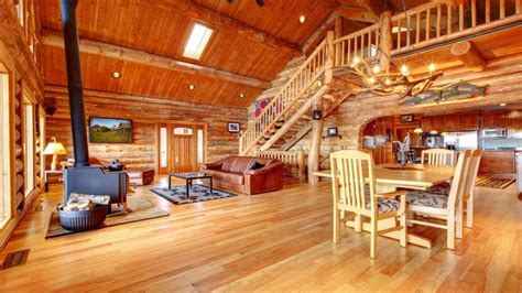 small log cabin interior  log cabin homes log cabins house plans treesranchcom