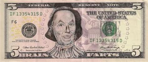 funny  dollar bill defaces fun
