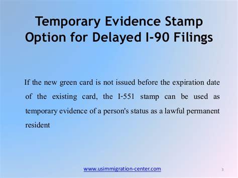Form I 551 Stamp  Hunthankkco