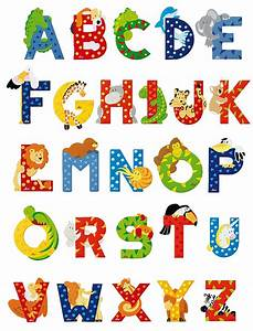 Sevi animal letters animal letters wooden animal letters for Kids name letters