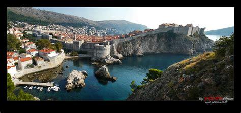 Travel Dubrovnik Croatia Panoramas Of The Old Town