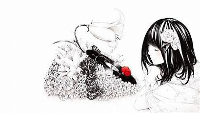 Anime Cool Desktop Wallpapers Backgrounds Flowers Phonographs