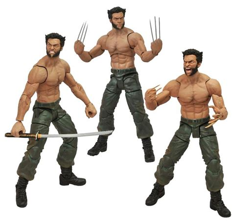 Hugh Jackman Marvel Wolverine Action Figure   The Mary Sue