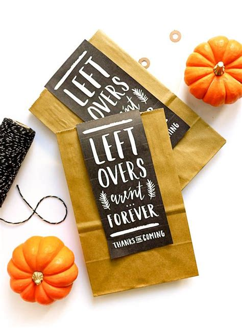printable leftover labels  happy day thanksgiving