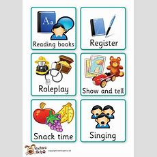 Teacher's Pet  Early Years Visual Timetable  Free Classroom Display Resource  Eyfs, Ks1, Ks2