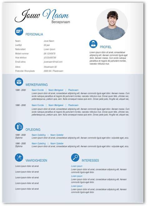 Pimp My Curriculum Vitae by Cv Design 313 Gebruik Dit Cv Ontwerp Om Je Eigen Cv Te