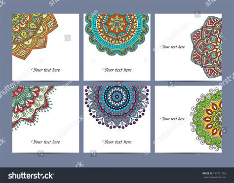 Cards Collection Delicate Floral Pattern Vector Stock Iphone App Business Card Exchange Best Editor Nyc & Co My Credit Free Hotel Stay Etsy Shop Examples Template Eps File American Express Interest Rate Organizer