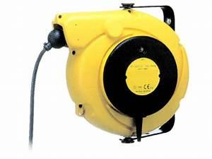 Enrouleur Electrique Automatique : enrouleur rappel automatique contact cable equipements ~ Edinachiropracticcenter.com Idées de Décoration