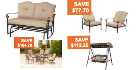 99 Patio Set At Walmart by Home Depot Patio Sale Glider 153 Coupons 4 Utah