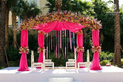 indian wedding decor company occasions by shangri la