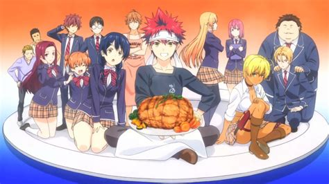 shokugeki  soma season  anime review funcurve