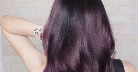 Eggplant Hair Color Trend