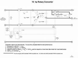 Rotary Phase Converter Won U0026 39 T Start  Help Requested Please
