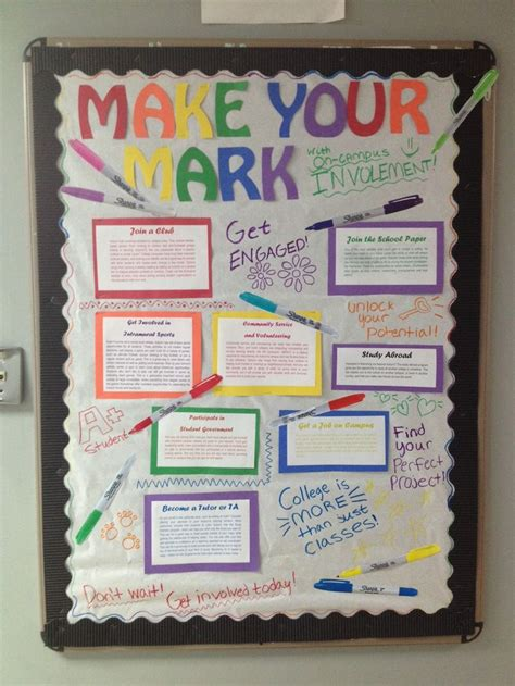 engagement bulletin board   mark  campus
