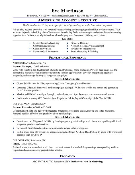 Account Profile Resume by Sle Resume For Account Executive Position Diplomatic