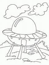 Ufo Coloring Pages Alien Bestcoloringpages Sheets Worksheets Aliens Ufos Spaceships Printables Lots Ancient Coloringhome sketch template
