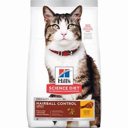 Hairball Control Dry Adult Feline Sd Hills