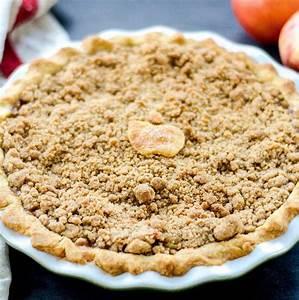 The Best Apple Crumble Pie Recipe - JoyFoodSunshine