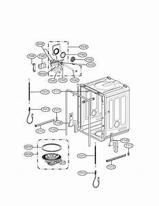 Lg Lds4821ww Dishwasher Parts