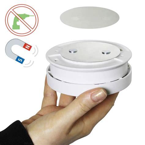 rauchmelder ohne bohren anbringen bioledex magnet pad f 252 r rauchmelder montage ohne bohren