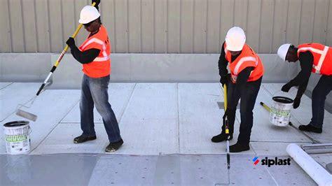 siplast parapro roof membrane application series step  apply parapro roof membrane youtube