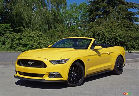 The 2016 Ford Mustang Gt Convertible Makes Life Beautiful