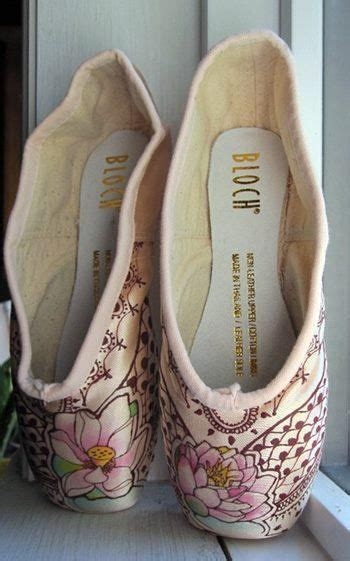 Decorated Ballet Pointe Shoes