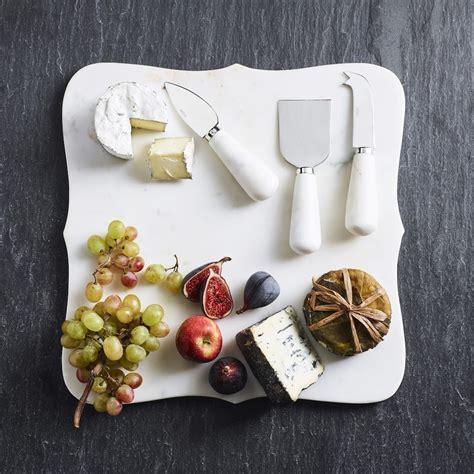 marble cheese knives set   williams sonoma au