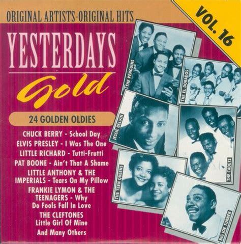 Vayesterday's Gold 24 Golden Oldies 25cd [1987, Pop
