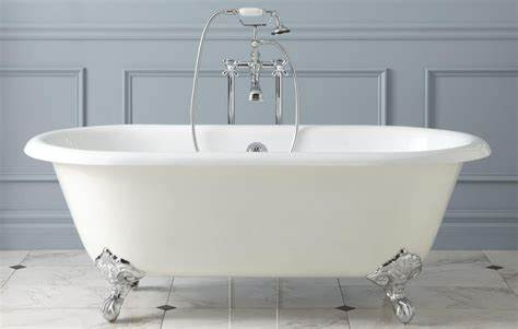 Landscapers Tool Washed In The Bathing Room basic types of bathtubs