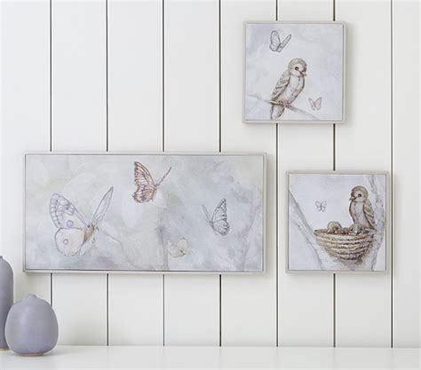 monique lhuillier framed canvas art pottery barn kids