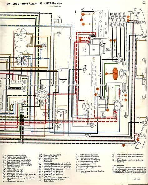 voltage regulator wire diagram for 1972 vw electrical
