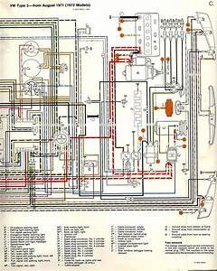 Voltage Regulator Wire Diagram For 1972 Vw