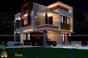 1500, Square, Feet, Double, Floor, Contemporary, Home, Design