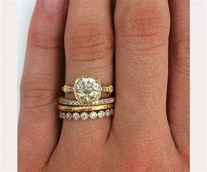 stacked wedding ring styles that39ll leave you breathless With stacked wedding rings trend