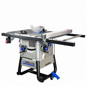 Shop DELTA 13-Amp 10-in Table Saw at Lowes com