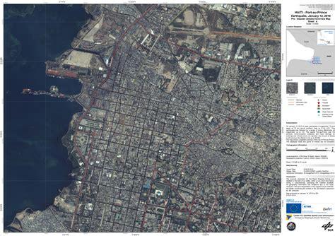 Haiti Satellite Image Before Earthquake On 12 January