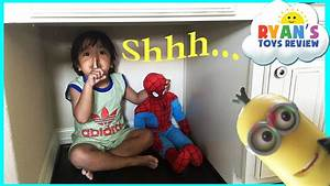 Hide N Seek Family Fun with Spiderman Thomas and Friends ...