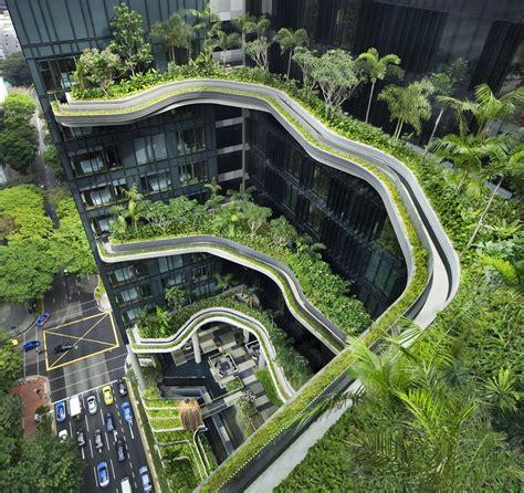 Parkroyal Pickering Singapore Building Architect