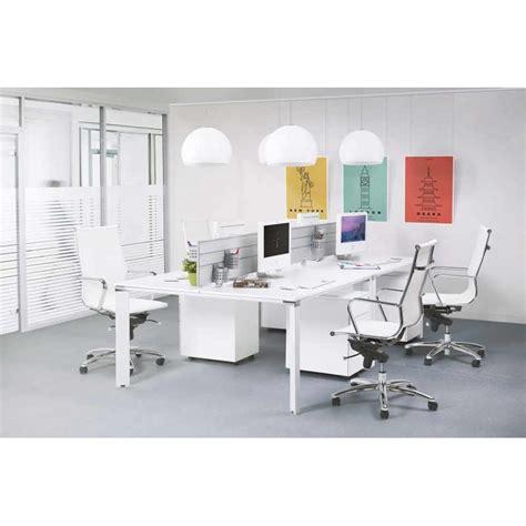 bureau en bois blanc bureau droit design bouny en bois blanc