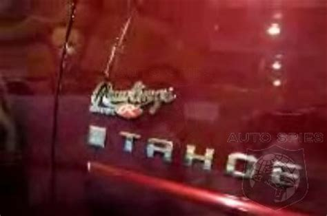 video special edition chevy tahoe rawlings edition