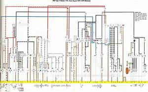 1973 Vw Beetle U0026 39 S Wiring Diagram   Key