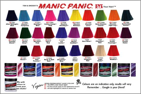 manic panic color tinte manic panic 174 ducos valladolid