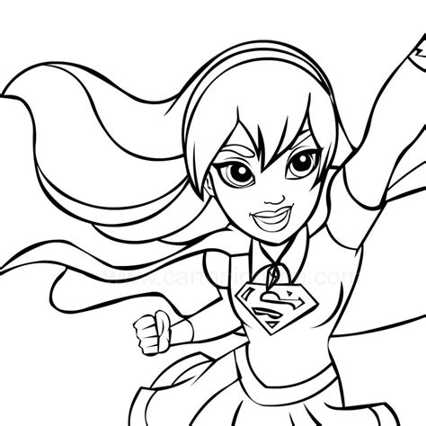 dc superhero girl coloring pages  getcoloringscom  printable colorings pages  print