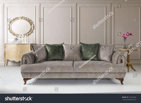 Modern Sofa Luxury Living Room Stock Photo 520185256