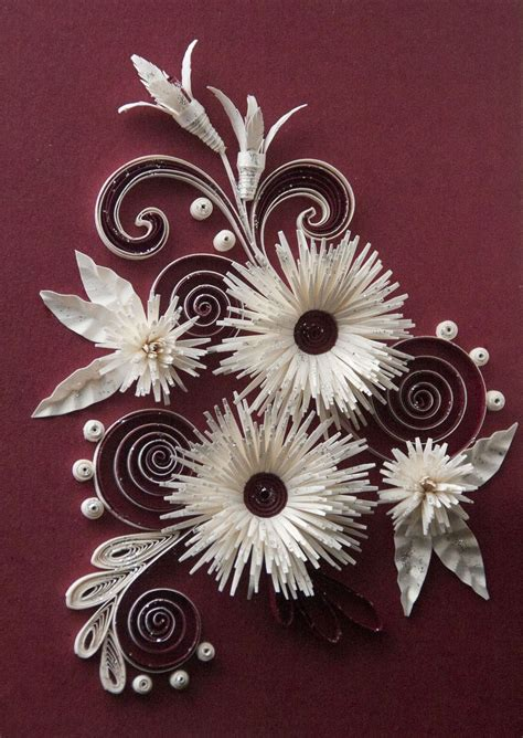 neli quilling art quilling cards flowers