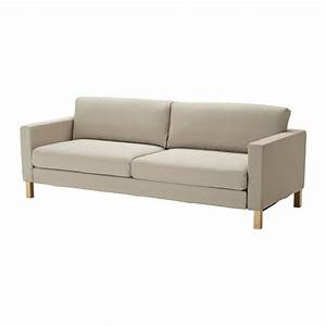 ikea karlstad sofa bed slipcover sofabed cover sivik beige With karlstad sofa bed